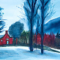 Snow In Vermont by Frank Bright