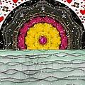 Snow Love Pop Art by Pepita Selles