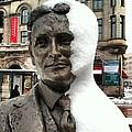 Snow Man by Jana Nyberg