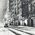 Snow - New York City - Winter Night by Vivienne Gucwa