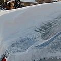 Snow On The Car by Susan Wyman