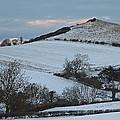 Snow On The Hill by John Topman