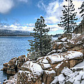 Snow On The Lake 2 by Eddie Yerkish