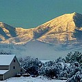 Snow On Utah Mountains by Susan Garren
