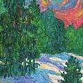 Snow Pines by Kendall Kessler