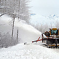 Snow Plow by Mark Newman
