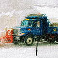 Snow Plow Painterly by Andee Design