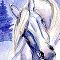 Snow Pony 1 by Linda L Martin