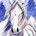 Snow Pony 2 by Linda L Martin