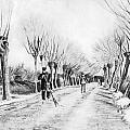 Snow Scene At Etten by Vincent van Gogh