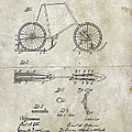 Snow Shoe Attachment For Bicycles Patent 1896 by Paulette B Wright