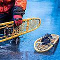 Snow Shoes 1 by Jim DeLillo