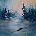 Snowstorm by Lora Duguay