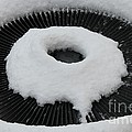 Snow Vent Abstract by Barbara Griffin