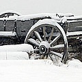 Snow Wagon   #0171 by J L Woody Wooden