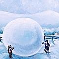 Snowball Fight by Shana Rowe Jackson