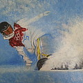 Snowboarder by Amelie Simmons