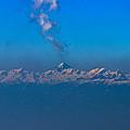Snowcanic Ash Cloud  by Dejan Pleterski