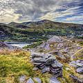 Snowdon Moutain Range by Ian Mitchell