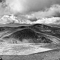 Snowdonia Panorama In Black And White by Jane Rix