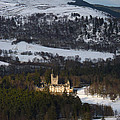 Balmoral Castle Snow by Phil Banks