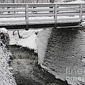 Snowfall Bridge by Michael Krek