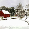 Snowfall In Williamsburg by Jerry Gammon