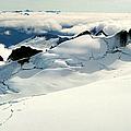 Snowfield Below by Frank Townsley