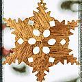 Snowflake Holiday Image Art by Jo Ann Tomaselli