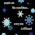 Snowflakes 4 by Methune Hively