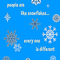 Snowflakes 5 by Methune Hively