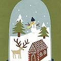 Snowglobe by Isobel Barber