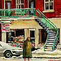 Snowing At The Five And Dime by Carole Spandau