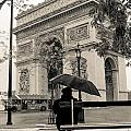 Snowing In Paris by Matthew Pace