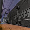 Snowlit Alley by Brandon Sullivan