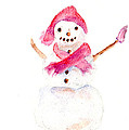 Snowman by Claire Bull