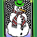 Snowman by Nancy Griswold
