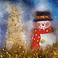Snowman Photo Art 14 by Thomas Woolworth