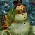 Snowman Photo Art 16 by Thomas Woolworth
