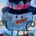 Snowman Photo Art 34 by Thomas Woolworth