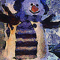 Snowman Photo Art 44 by Thomas Woolworth