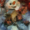 Snowman Photo Art 47 by Thomas Woolworth