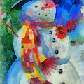 Snowman Photo Art 53 by Thomas Woolworth