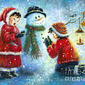 Snowman Song by Vickie Wade