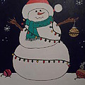 Snowman by Theresa Shaw