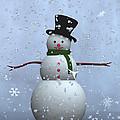 Snowman... by Tim Fillingim