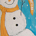 Snowman University Of Tennessee by Lee Owenby