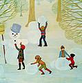 Snowmen by Ditz