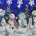 Snowmen Peace Photo Art by Thomas Woolworth