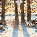 Snowscape by Veronica Minozzi
